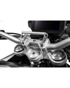 Adaptateur GPS pour montage aux supports du guidon support pour systèmes de navigation BMW F850GS/ F850GS Adventure/ F750GS