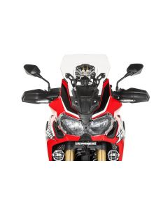 Bulle, M, transparent, pour Honda CRF1000L Africa Twin/ CRF1000L Adventure Sports