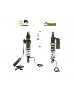 KIT CHÂSSIS Touratech Suspension Plug & Travel Abaissement -25mm  pour BMW R1200GS/R1250GS Adventure à partir de 2017